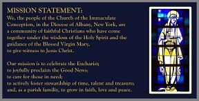 Parish Mission Statement